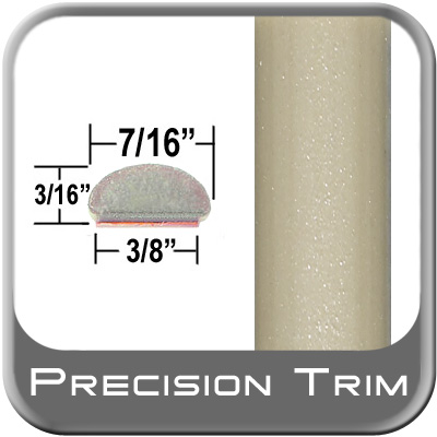 "7/16"" Wide Wheel Molding Trim (PT93) Sold by the Foot Precision Trim® #2150-93-01"