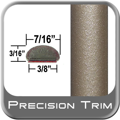 "7/16"" Wide Tan Wheel Molding Trim (PT96) Sold by the Foot Precision Trim® #2150-96-01"