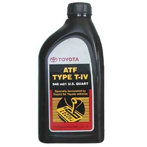 Genuine Toyota Automatic Transmission Fluid ATF Type T-IV 1 Quart Bottle Sold Individually #00279-000T4-01