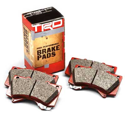 Toyota Brake Pads High Performance Pad Set Made of an Aramid and ceramic-strengthed compound Rear Set Genuine Toyota #PTR09-0C110
