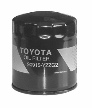 Toyota Oil Filter Spin-on Style Direct Factory Replacement Genuine Toyota #90915-YZZG2