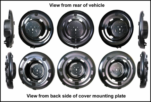 new 2004 2005 toyota rav4 spare tire cover mount from. Black Bedroom Furniture Sets. Home Design Ideas