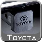 "Toyota Trailer Hitch Cover Plug Black Rubber w/Toyota Logo Fits all 2"" Hitches Genuine Toyota #PT228-35960-HP"