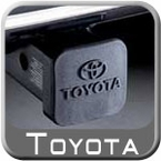 "Toyota Trailer Hitch Cover Plug Black Rubber w/Toyota Logo Fits all 2"" Hitches Sold Individually Genuine Toyota #PT228-35960-HP"