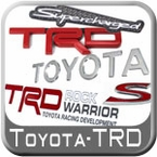Toyota & TRD Logo Stickers, Emblems & Decals