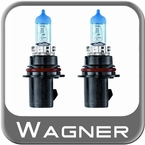 Wagner Lighting 9004 Headlight Bulb BriteLite Xenon Twin Pack Set of 2 #BP9004BLX2