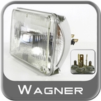 Wagner Lighting H4656 Headlight Bulb BriteLite Xenon Sold Individually #H4656BL