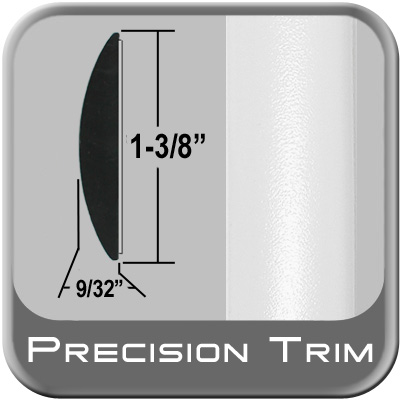"""1-3/8"""" Wide White Molding Trim (PT10) Sold by the Foot Precision Trim® #17100-10-01"""