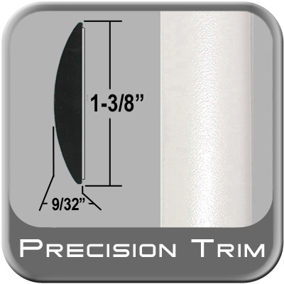 "1-3/8"" Wide White Molding Trim (PT17) Sold by the Foot Precision Trim® #17100-17-01"