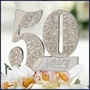 50th Anniversary Cake Pick - SAVE 20%