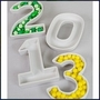 Number Candy Dishes