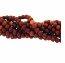 4mm Red Malachite Round Beads (16 Inch Strand)