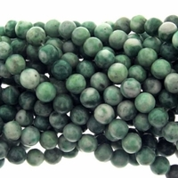 6mm China Jade Round Beads 16 Inch Strand