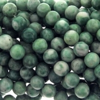 8mm China Jade Round Beads 16 Inch Strand