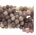 8mm Lavender Agate Round Beads -B (16  Inch Strand)