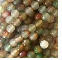 "8mm Watermelon Faceted Round Beads 15.5"" Strand"