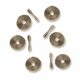 Antiqued Brass 10mm Wavy Disc Spacer Beads (20PK)