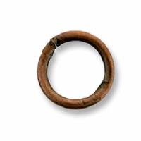 Antiqued Copper Plated 7mm Closed Jump Rings(25PK)