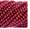 Cranberry Potato Freshwater Pearl 5-6mm Bead Strand