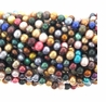 Multicolor 6-6.5mm Potato Freshwater Pearl Bead Strand