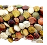 Multi-Color 14-15mm Coin Pearl Bead Strand