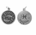 Pisces Sterling Silver Charm- Feb. 19-March 20