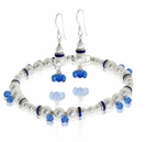 Swarovski Pearls and Sapphire Drops Jewelry Design Kit