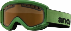 (Sale!!!) Anon Optic Helix Snow Goggles<br>Grasshopper/Amber
