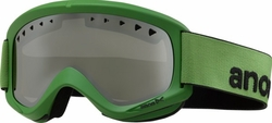 (Sale!!!) Anon Optic Helix Snow Goggles<br>Grasshopper/Silver Amber Mirror