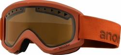 (Sale!!!) Anon Optic Helix Snow Goggles<br>Scorch/Amber