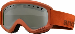 (Sale!!!) Anon Optic Helix Snow Goggles<br>Scorch/Silver Amber<br>+ Spare Lens