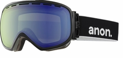 Anon Optic Insurgent Snow Goggles<br>Black/Blue Lagoon