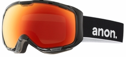 (Sale!!!) Anon Optic M1 Snow Goggles<br>Black/Red Solex + Blue Lagoon