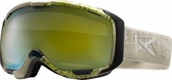 (Sale!!!) Anon Optic M1 Snow Goggles<br>Grain/Gold Chrome
