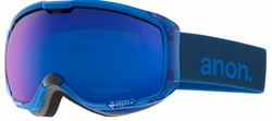 (Sale!!!) Anon Optic M1 Snow Goggles<br>Midnight/Blue Cobalt + Blue Lagoon