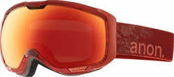 (Sale!!!) Anon Optic M1 Snow Goggles<br>Skrape/Red Solex + Blue Lagoon