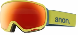 (Sale!!!) Anon Optic Tempest Snow Goggles<br>Lemondrop/Red Solex