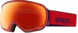 (Sale!!!) Anon Optic Tempest Snow Goggles<br>Lipstick/Red Solex
