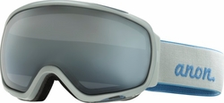 (Sale!!!) Anon Optic Tempest Snow Goggles<br>White Smoke/Blue-Silver Fade