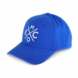 KCMO Royal/White Curved Bill Hat