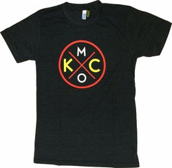 Unisex KCMO Black Red & Yellow Tee