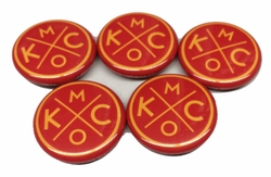 BunkerMade Kansas City Pins 5-Pack<br>CLICK HERE FOR STYLES