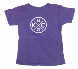 Bunkermade KCMO Toddler & Youth<br>Tri-purple