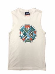BunkerMade KCMO Unisex Muscle Tank Top<br>Tropical