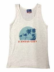 BunkerMade KCMO Unisex Tank Top<br>KC Vice