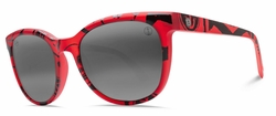 (SALE!!!) Electric Bengal Sunglasses<br>Twin Fine Red/Melanin Grey Bi-Gradient