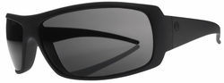 (Sale!!!) Electric Charge Sunglasses<br>Matte Black/Melanin Grey