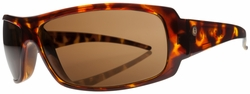 (Sale!!!) Electric Charge Sunglasses<br>Tortoise Shell/Melanin Bronze Poly Polarized<br>Level I