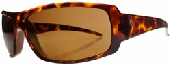 Electric Charge Sunglasses<BR>Tortoise Shell/Melanin Bronze Polarized<br>Level II