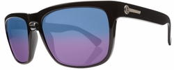 Electric Knoxville Sunglasses<BR>Gloss Black/Melanin Blue Polarized<br>Level II